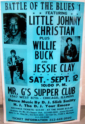 Little Johnny Christian poster