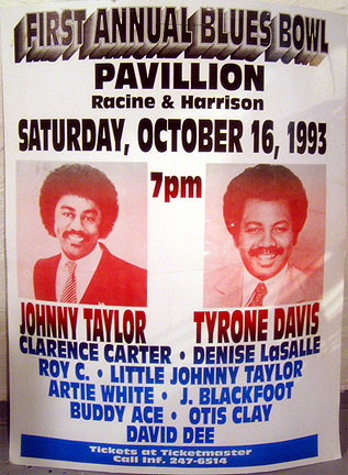 Johnny Taylor poster